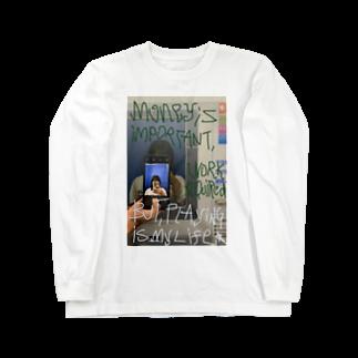 asuuka_happinessの金働or遊 Long sleeve T-shirts