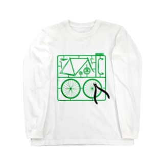 PLASTIC MODEL Long sleeve T-shirts