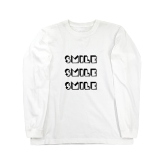 smile Long sleeve T-shirts