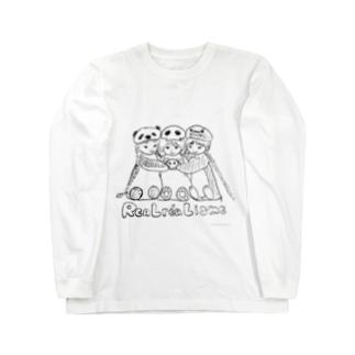 リアルレアリズム宣言 Long sleeve T-shirts