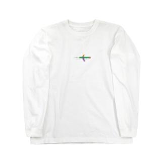 えんぴつひこーき Long sleeve T-shirts