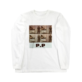 P.Pショッピング Long sleeve T-shirts