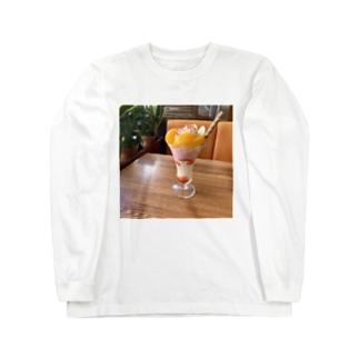 あの店のフルーツパフェ その2 Long sleeve T-shirts
