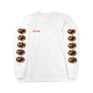 Oil Yaki Long sleeve T-shirts