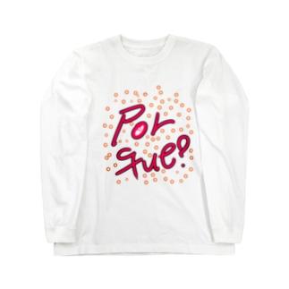 なぜ??スペイン語 Long sleeve T-shirts