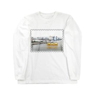 静岡県:清水港★白地の製品だけご利用ください!! Shizuoka: Shimizu Port★Recommend for white base products only !! Long sleeve T-shirts