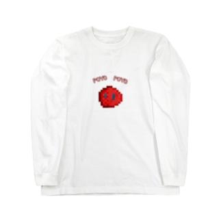ぽよぽよスライム火属性 Long sleeve T-shirts