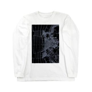 アポロロケットブースター Long sleeve T-shirts