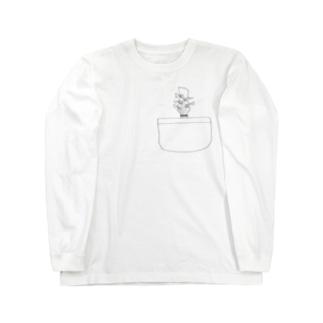 5弦ベーシストのためのアイテム Long sleeve T-shirts
