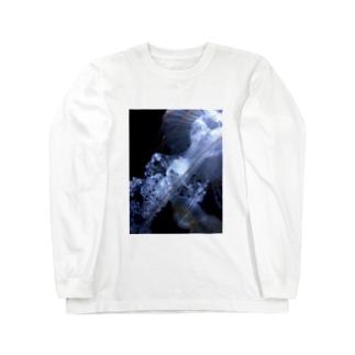 漂うクラゲ Long sleeve T-shirts