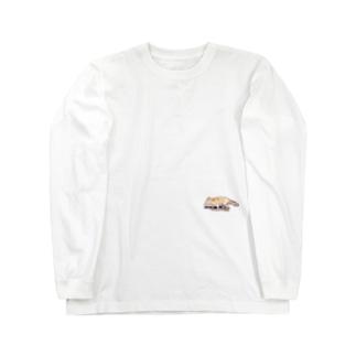 野生のきつね Long sleeve T-shirts