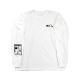 KRT.取扱表示 Long sleeve T-shirts