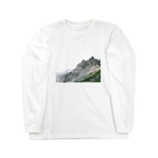 白馬岳 Long sleeve T-shirts