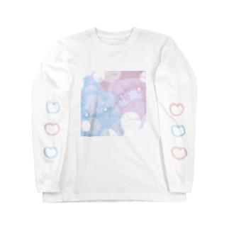 めるちゅウィンター Long sleeve T-shirts