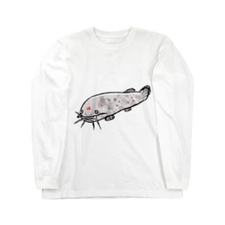 デンキナマズ  Long sleeve T-shirts