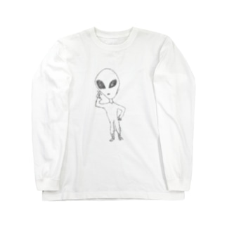 Alien Long sleeve T-shirts
