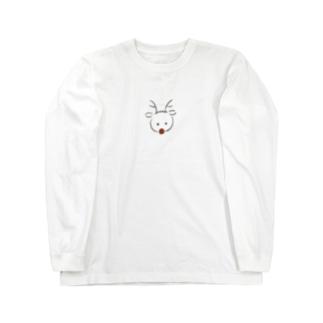 赤鼻のトナカイ Long sleeve T-shirts
