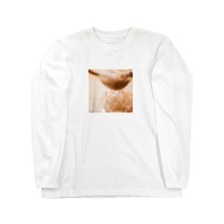 コーヒーゼリー Long sleeve T-shirts