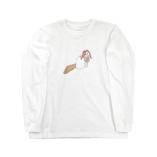 おりぼんりーたん Long sleeve T-shirts
