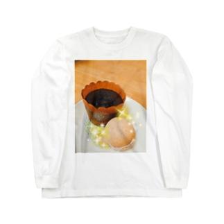 3時のおやつ Long sleeve T-shirts