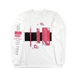 BATUNEKO…ILLUSTRATIONver.  Long sleeve T-shirts