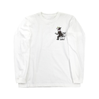 TOILET COW ② Long sleeve T-shirts