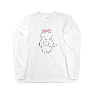 ワヌ美ちゃん Long sleeve T-shirts