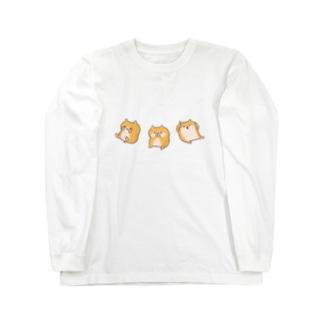 見はむ聞かはむ言わはむ Long sleeve T-shirts