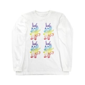龍ちゃん・龍体文字【てち】長袖Tシャツ Long sleeve T-shirts