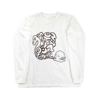 色即是空ダンス Long sleeve T-shirts