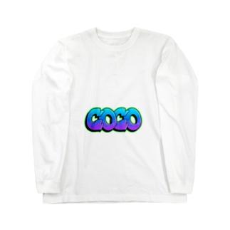 ちん Long sleeve T-shirts