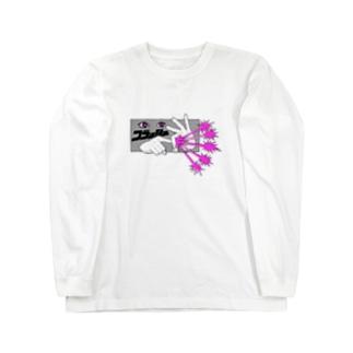 フラッシュ!! Long sleeve T-shirts