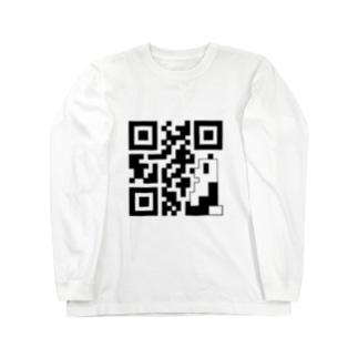 PNDコード (横向き) Long sleeve T-shirts