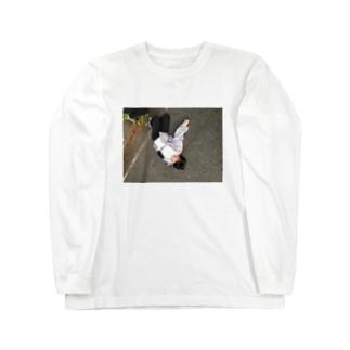 さかさやまさき Long sleeve T-shirts