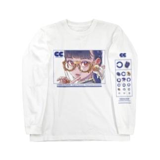 視力検査ロングT Long sleeve T-shirts