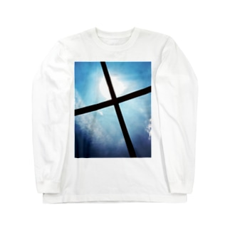 Cross_Sky Long sleeve T-shirts