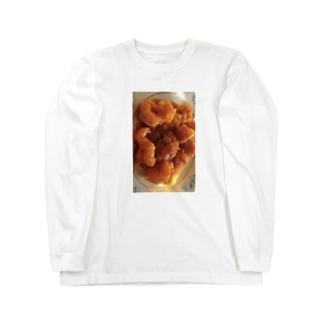 エビチリ Long sleeve T-shirts