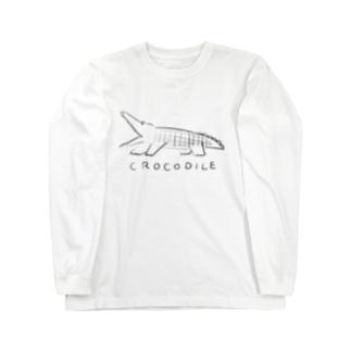 「クロコダイル」ロングスリーブTシャツ Long sleeve T-shirts