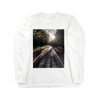 光 Long sleeve T-shirts