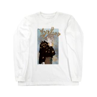 銀杏 Long sleeve T-shirts