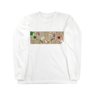 リアル人生ゲーム ロゴグッズ Long sleeve T-shirts