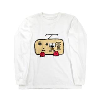 A-craft工房のたこラジオ Long sleeve T-shirts