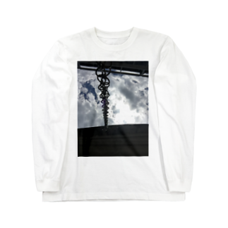 RyoY_ArtWorks_GalleryのSunLight_Chain_Water_SKY Long sleeve T-shirts