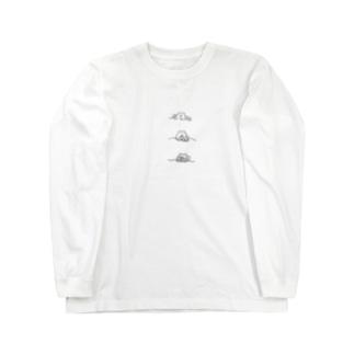 おやすみのじかん Long sleeve T-shirts