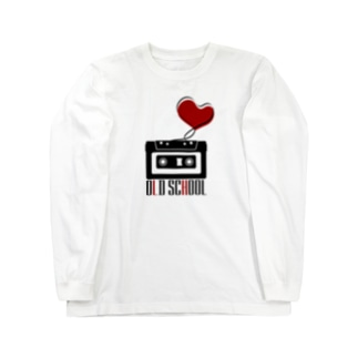 Compact Cassette / Old School Long sleeve T-shirts