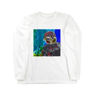 やんちゃ猫RAKI Long sleeve T-shirts