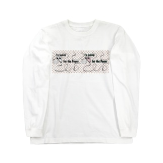I'm looking for the Power ブラウン Long sleeve T-shirts