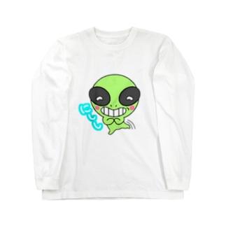 宇宙人コケ Long sleeve T-shirts