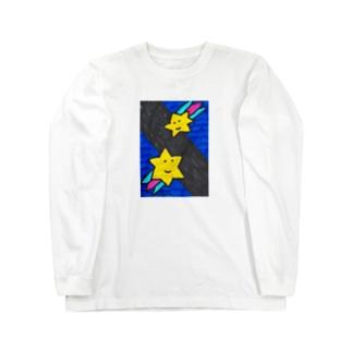 ながれぼし Long sleeve T-shirts