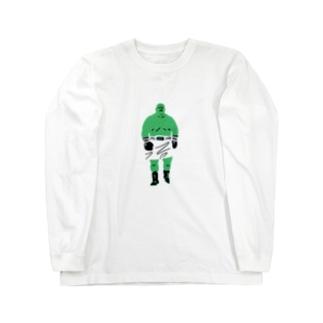Mr.BB(MIDORI) Long sleeve T-shirts